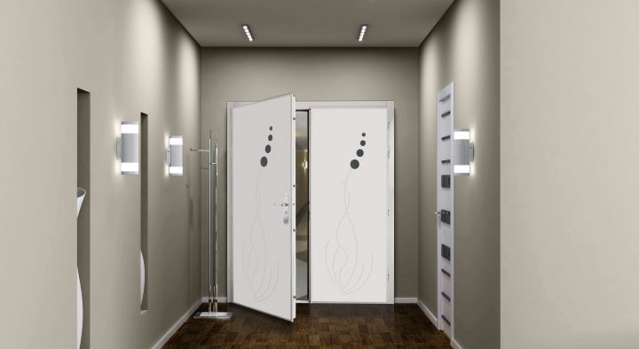 Porte double ventaux Picard posée par Point Protection